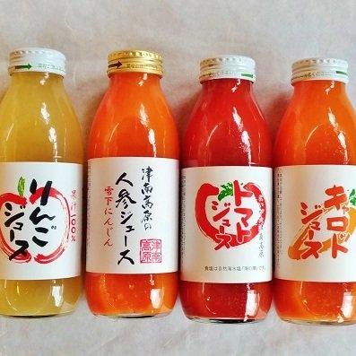 新潟県 津南高原農産 ジュース<br>【350ml】