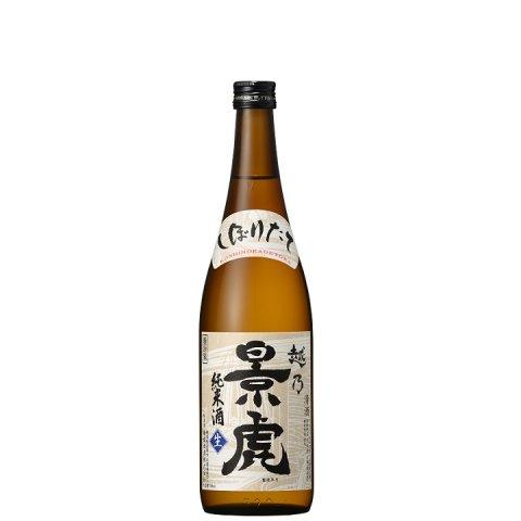 [12/12再入荷予定]越乃景虎 純米しぼりたて生原酒<br>【720ml】