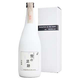 越の鶴 雪の足跡 特別純米原酒≪化粧箱入≫<br>【720ml】