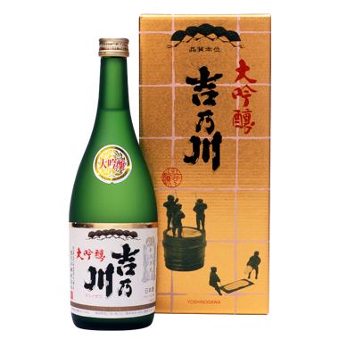 [お取り寄せ]大吟醸 吉乃川≪化粧箱入≫<br>【720ml】