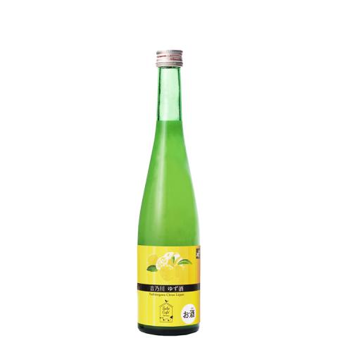 吉乃川 Sake Cafe ゆず酒<br>【500ml】
