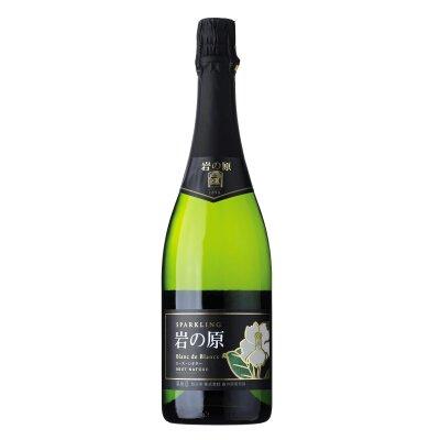 岩の原スパークリングワイン ブラン・ド・ブラン ローズ・シオター<br>【750ml】