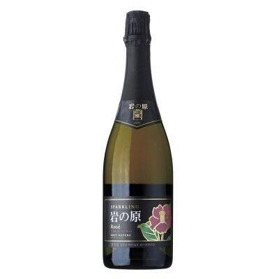 岩の原スパークリングワイン ロゼ マスカット・ベーリーA<br>【750ml】