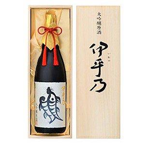 [お取り寄せ]越の初梅 伊乎乃(いおの)大吟醸原酒《桐箱入り》<br>【1800ml】