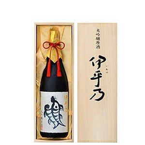 [お取り寄せ]越の初梅 伊乎乃(いおの)大吟醸原酒《桐箱入り》<br>【720ml】