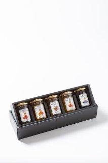 ギフト・ホテルオリジナルジャム5種セット : ギフト プレゼント 贈り物 贈答品 手土産 お歳暮 お中元