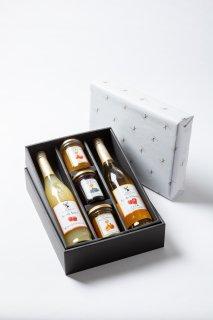 楽しみ広がるジュースとジャムのギフトセット :プレゼント 贈り物 贈答品 手土産 お歳暮 お中元
