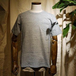 【RIDING HIGH】吊り編みTシャツ/杢グレー