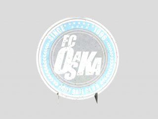 FC大阪色紙5枚