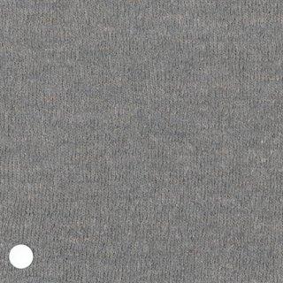 ウール綿麻グレー杢ニット