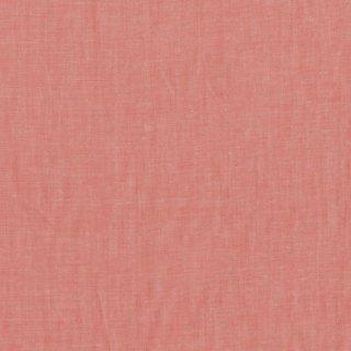 綿麻フラミンゴオレンジシャンブレー