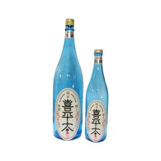 純米酒 生酒(要冷蔵)数量限定酒『喜平太純米酒しぼりたて生酒・旬』 720ml 1,337円(税込)       ※別途梱包代が必要