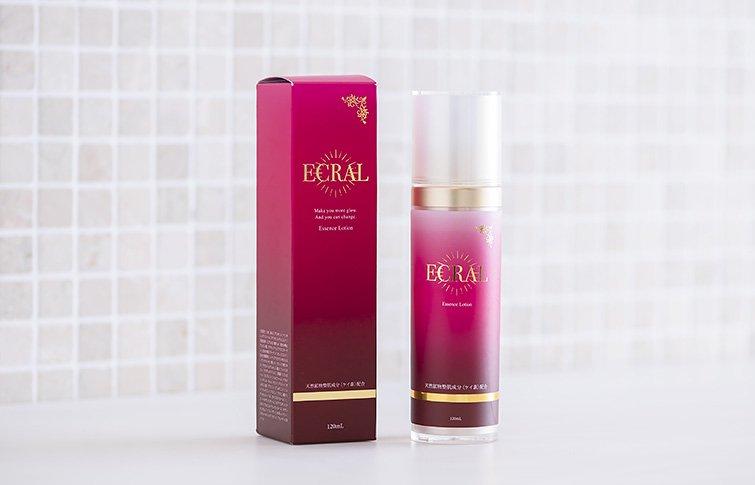 エッセンスローション<small>(保湿ゲル化粧水)</small><br>ECRAL Essence Lotion<small>(moisturizing lotion)</small>