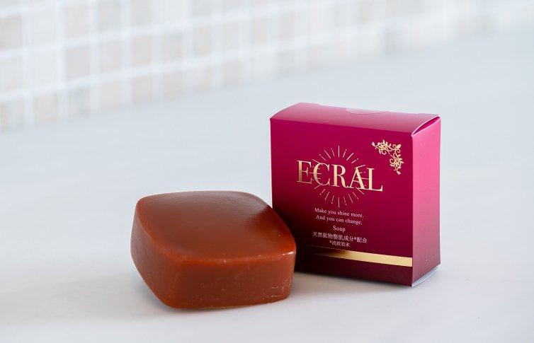 モイスチャーソープ<small>(石鹸)</small><br>ECRAL Soap<small> (soap)</small>