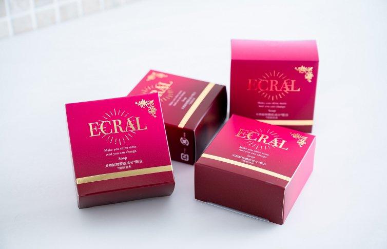 モイスチャーソープ 4個セット<small>(石鹸)</small><br>ECRAL Soap set of 4<small> (soap)</small>