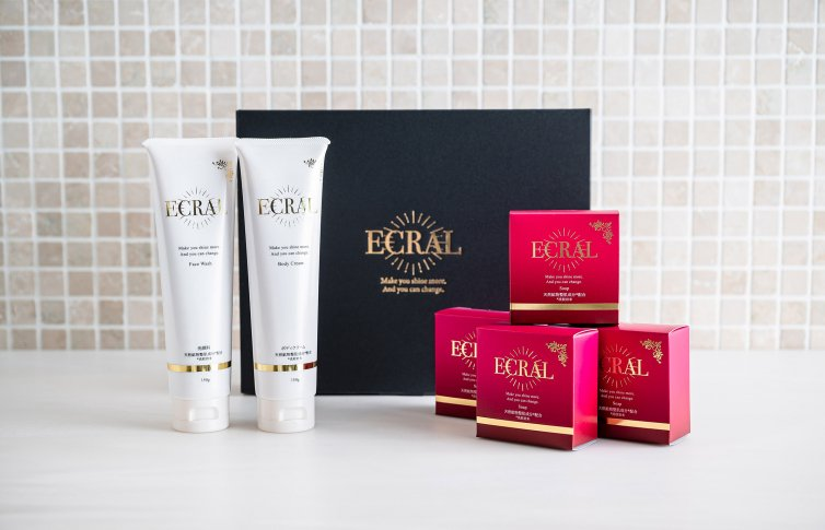 ECRAL ギフトセット<small>(ボディケアシリーズ)</small><br>ECRAL GIFT SET<small> (body care series)</small>
