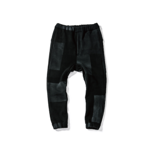【Pre-oreder】Sweat Easy Rib Patchwork Pants