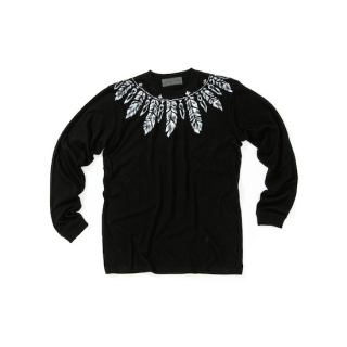 Feather Paint L/S Tee