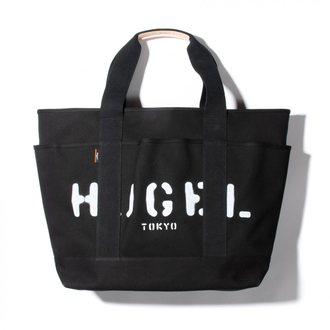 CANVAS TOTE XL / BLACK