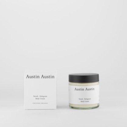 Austin Austin<br>neroli & petitgrain body cream