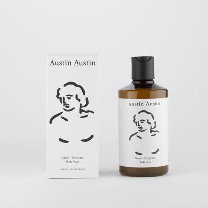 Austin Austin<br>neroli & petitgrain body soap