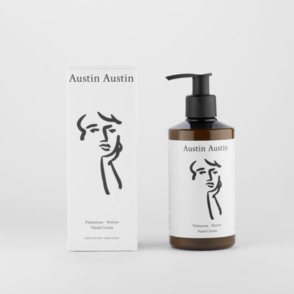 Austin Austin<br>palmarosa & vetiver hand cream
