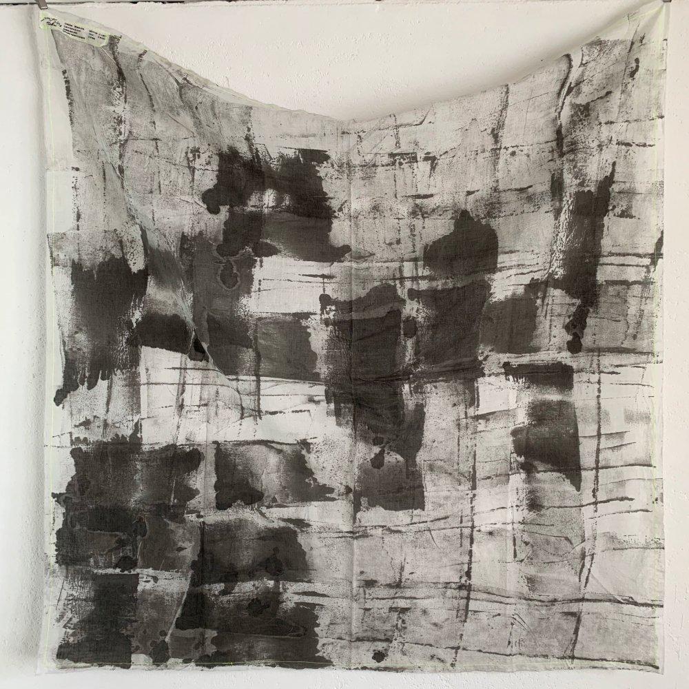 Funatabi atelier<br>multi cloth L<br>sumi dye