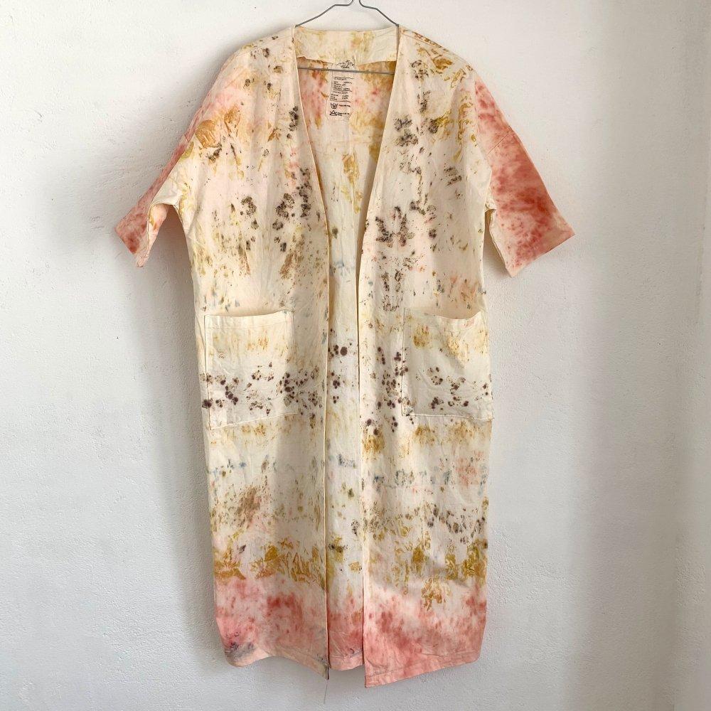 Funatabi atelier<br>kimono coat<br>botanical dye