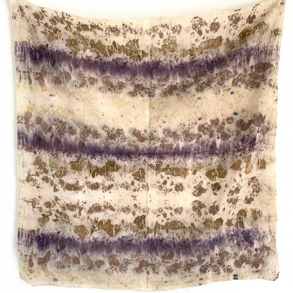 Funatabi atelier<br>multi cloth L<br>botanical dye