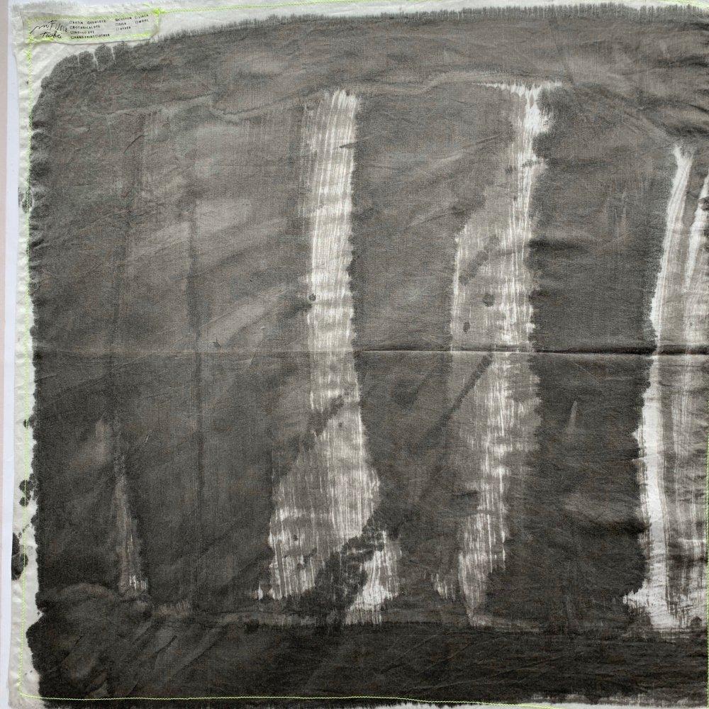 Funatabi atelier<br>multi cloth S<br>sumi dye