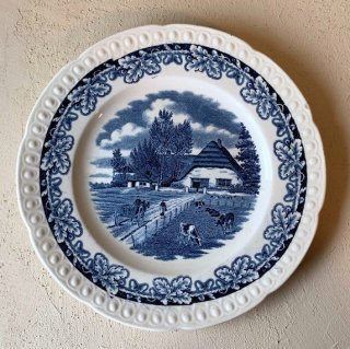 Societe Ceramique plate blue.a<img class='new_mark_img2' src='https://img.shop-pro.jp/img/new/icons47.gif' style='border:none;display:inline;margin:0px;padding:0px;width:auto;' />