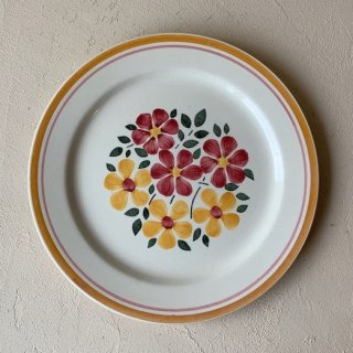 Antique flower plate.a<img class='new_mark_img2' src='https://img.shop-pro.jp/img/new/icons47.gif' style='border:none;display:inline;margin:0px;padding:0px;width:auto;' />