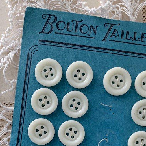 Antique button seat