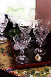 トーマスウエッブ ため息のでる美麗なシャンパン&カクテルグラス 6客セット