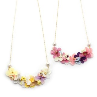 vacation flower ネックレス:zoule(ゾーラ)