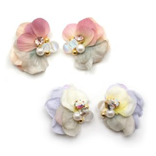 frill flowers ピアス:zoule(ゾーラ)
