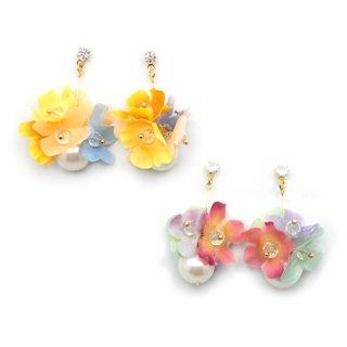swing flowers ピアス:zoule(ゾーラ)