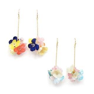 flower ball II ピアス:zoule(ゾーラ)