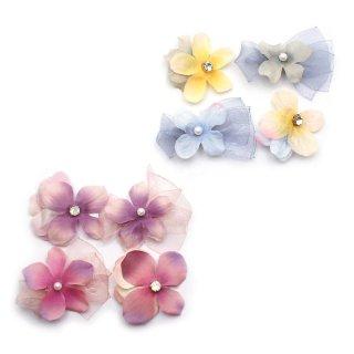 dress flowers ミニへアクリップセット:zoule(ゾーラ)