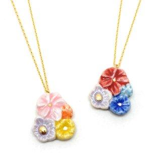 有田焼 Heaven's flower ネックレス:gargle(ガーグル)