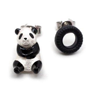 パンダのひとり遊び ピアス:gargle(ガーグル)