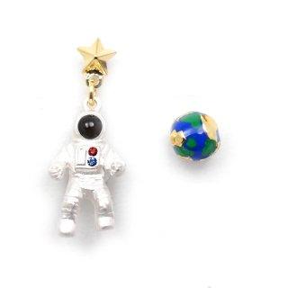 ミニ宇宙飛行士 ピアス:gargle(ガーグル)