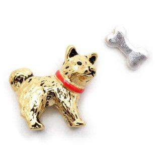 しば犬 ピアス:gargle(ガーグル)