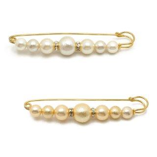 cotton pearls ショールピン:zoule(ゾーラ)