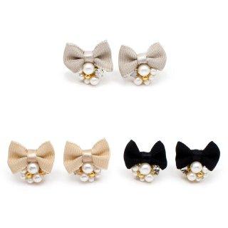 mini jewelry ribbon ピアス:zoule(ゾーラ)