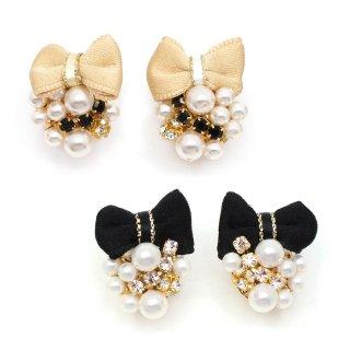jewelry ribbon イヤリング:zoule(ゾーラ)