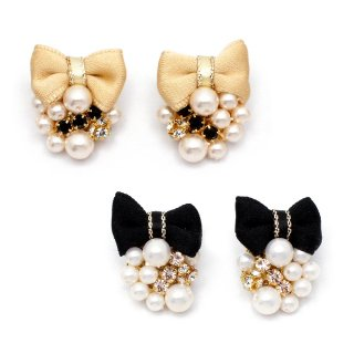jewelry ribbon ピアス:zoule(ゾーラ)