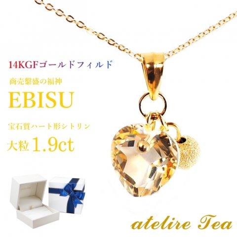 EBISU 14KGF ネックレス ケース付