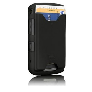 【ICカードが収納できるケース】 BlackBerry Storm2 9550 ID Case Matte Black