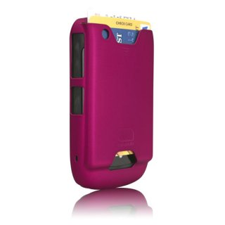【ICカード収納ケース】 BlackBerry Curve 9300 ID Case Matte Hot Pink